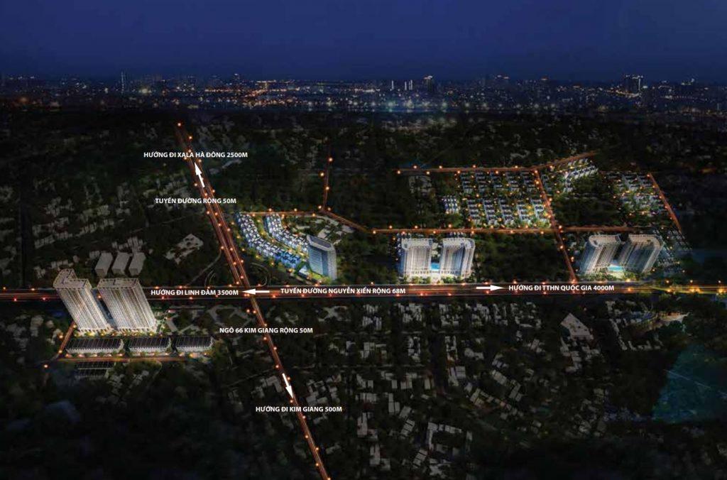 Phối cảnh dự án Athena Fulland phân khu Larissa